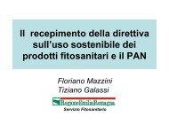 (Piano di Azione Nazionale) parte 1 (F.Mazzini) - Fitosanitario.Pc.It
