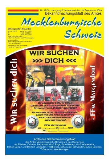 MARIO WINTER Telefon - Gemeinde Alt Sührkow