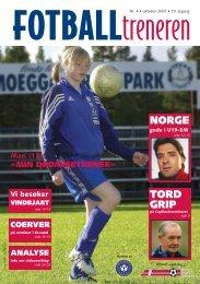 MIN DRØMMETRENER - trenerforeningen.net
