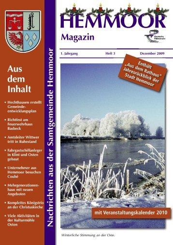 HEMMOOR - Magazin