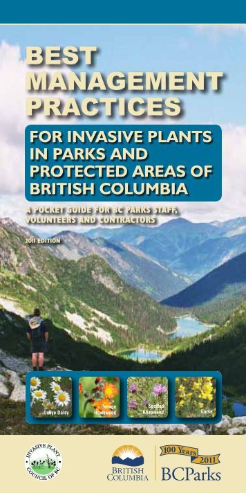 Best Management Practices for Invasive Plants in Parks and ...