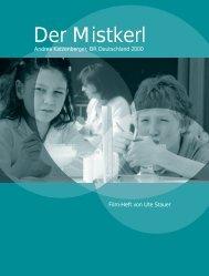 """""""Der Mistkerl"""", Filmheft (PDF, 1,4MB)"""