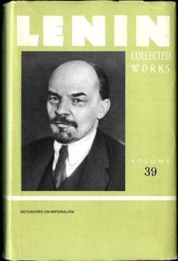 Lenin CW-Vol. 39-TC.pdf - From Marx to Mao