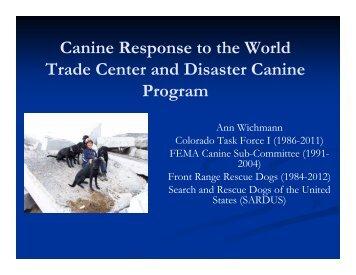 Search & Rescue Dogs - Wheat Ridge Animal Hospital