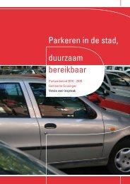 Parkeerbeleid 2010-2020 - parkeer24