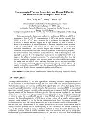 Measurements of Thermal Conductivity and ... - thermophysics.ru
