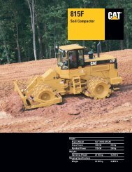 Specalog for 815F Soil Compactor AEHQ5486-02 - Kelly Tractor