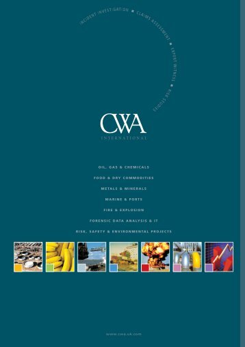 CWA Ready Reference - CWA Consultants - UK.COM