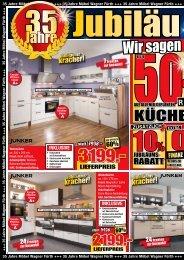 sie sparen - Möbel Wagner in Fürth