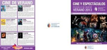 CINE DE VERANO - Diario de Pozuelo