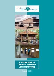 A Practical Guide to Creating a Sustainable Community Building