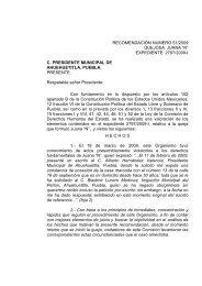 expediente: 2797/2009-i c. presidente municipal de ahuehuetitla ...