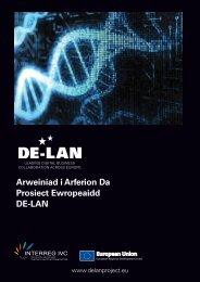 Arweiniad i Arferion Da Prosiect Ewropeaidd DE-LAN