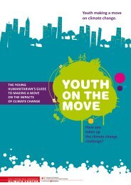 Youth making a move on climate change. - Climate Centre