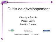 Outils de développement - COMPIL