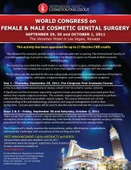World Congress on Female & Male Cosmetic Genital