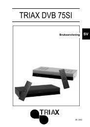 DVB 75SI Users Manual