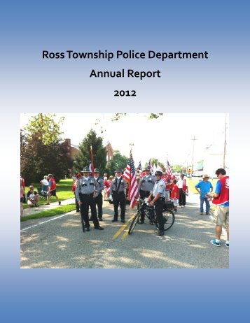 2012 Annual Report - Ross Township, Ohio