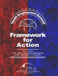 Framework for Action - Youth Entrepreneurship and Sustainability