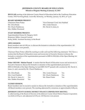 Minutes 08 27 12 - Jefferson County Public Schools - Kentucky ...