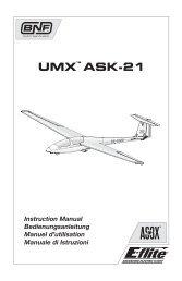 29642 EFL ASK 21 Manual multi.indb - Horizon Hobby