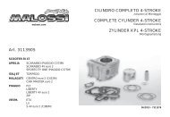 CILINDRO COMPLETO 4-STROKE COMPLETE CYLINDER 4 ...