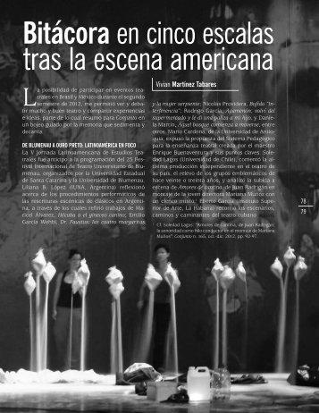 tras la escena americana - Casa de las Américas