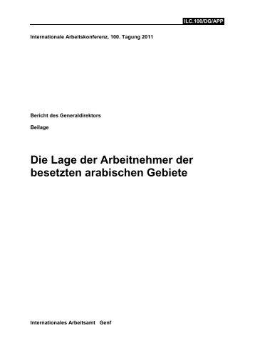 Bericht 2011 - Netzwerk Schweiz für einen gerechten Frieden in ...