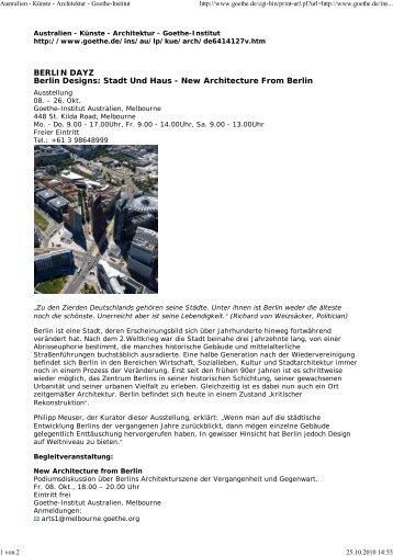 mehr (PDF) - Meuser Architekten
