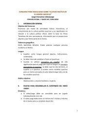 Descargar las Bases - Ciudadania Bolivia