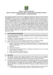 Edital nº. 12/2011-REITORIA/IFRN