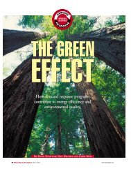 The Green Effect - How demand response programs contribute to ...