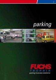 Prospetto PARKING 2013 - Fuchs Technik