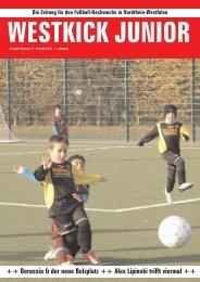 WESTKICK JUNIOR Die Zeitung für den Fußball-Nachwuchs in ...