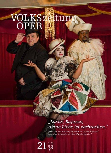 Lache, Bajazzo, deine Liebe ist zerbrochen. - Volksoper Wien
