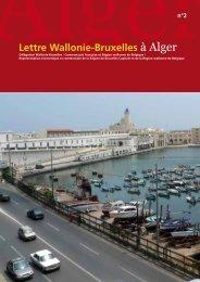 Lettre de la Délégation Wallonie-Bruxelles à Alger n°2 - WBI