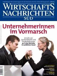 Ausgabe 07/2013 Wirtschaftsnachrichten Süd