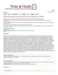 Year : 2012 | Volume : 14 | Issue : 57 | Page : 58--67 Review of the ...