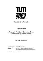 Fakultät für Informatik Diplomarbeit Automatic Test Case Generation ...