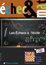 Télécharger le N° 37 - Fédération Française des Échecs