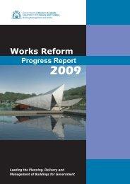 Works Reform - Department of Finance - The Western Australian ...