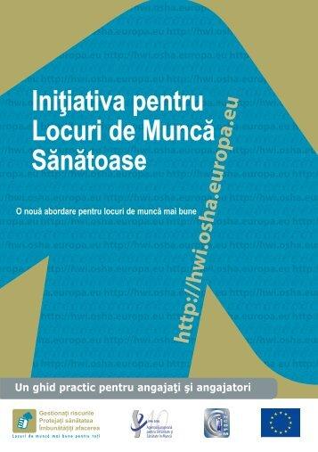Pliant - Securitate şi Sănătate în Muncă în Munncă pentru ...