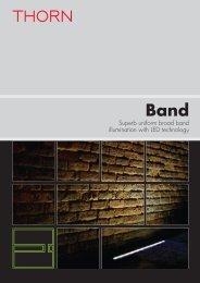 Superb uniform broad band illumination with LED ... - Thorn Lighting