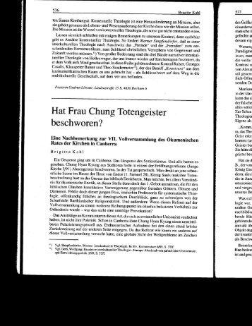 Hat Frau Chung Totengeister - Academic Commons