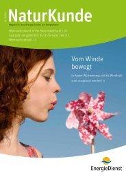 NaturKunde Ausgabe 4-12 - EnergieDienst AG