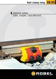 Rail clamp long 68.05