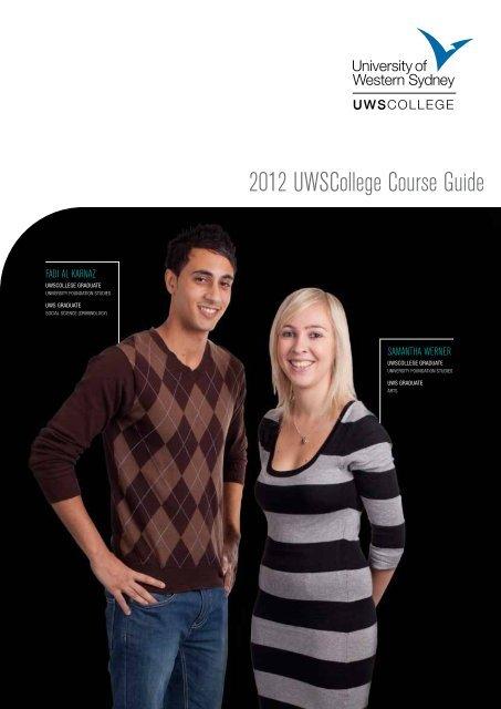 2012 UWSCollege Course Guide - University of Western Sydney