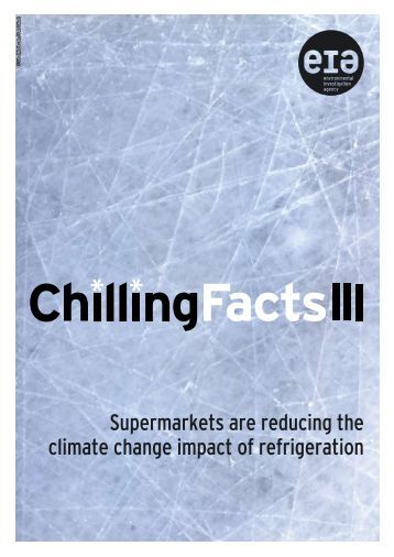 Chilling Facts Survey - Environmental Investigation Agency