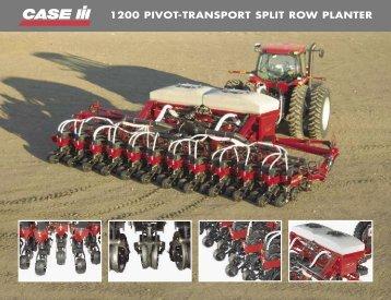 1200 PIVOT-TRANSPORT SPLIT ROW PLANTER - Centre Agricole.ca