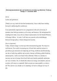 Speech from Ambassador Steffen Smidt, Freiburg - Institute for ...